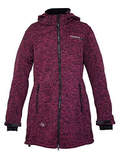 Elkford Polar De Mujer Deproc Long Jacket Morado Forro Active Abrigo Lady xZw1YYP7