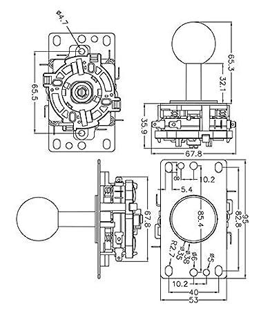 Amazon Com Winit Zero Delay Pc Joystick Cabinet Diy Parts Kit For