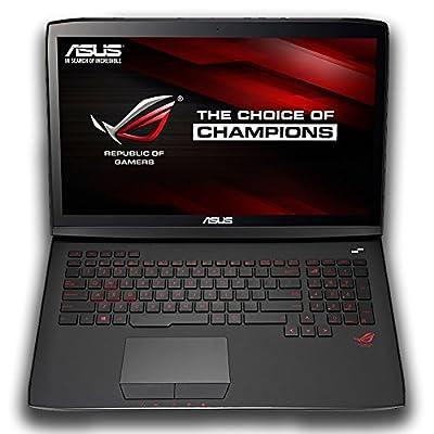 CUK ASUS ROG G751JL Full HD 17 Inch Gaming Laptop (Intel Core i7-4720HQ, 32 GB, 1TB SSD, 2TB HDD, Black) with NVIDIA GTX 965M Windows 10 Gamer Notebook PC Computer