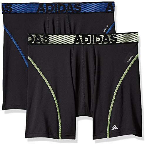 adidas Mens Sport Performance ClimaCool Boxer Underwear (2 or 4 pack)