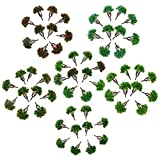 60pcs 1:150 DIY Model Train Trees Scenery Building Park Garden 7cm/2.75inch