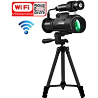 8bccf0ff8ce Aliynet Infrared Night Vision Monocular with WiFi Wireless Connect with  Smartphone Application