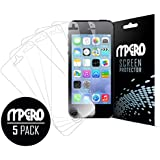 Empire Screen Protector Film [5-Pack] for Apple iPhone SE /5S / 5 / 5C, Clear