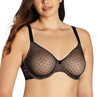Wacoal Women's Reveal Underwire Bra, Black, 34B