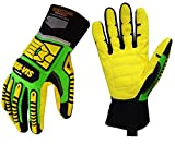 Best Impact Gloves - Seibertron HIGH-VIS SDXC5 Mechanics Cut5 Impact Cut Puncture Review