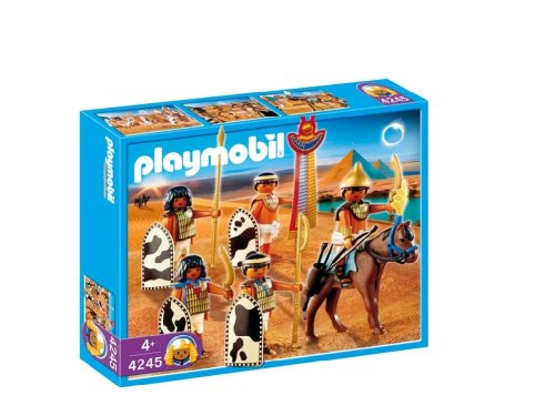 [Playmobil Egyptian Soldiers 4245  33 piece set] (Egyptian Soldier Costumes)