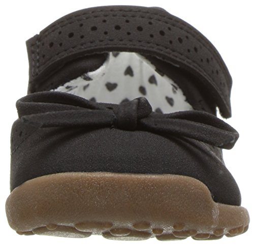 Carter's Every Step Girls' Stage 3 Walk, Nori-WG Mary Jane Flat Flat, Black, 4.5 M US (12-18 Months) - Image 4