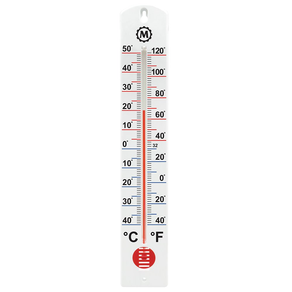 MARATHON BA030001-5 Vertical Outdoor Thermometer - 16-Inch, 5 Pack