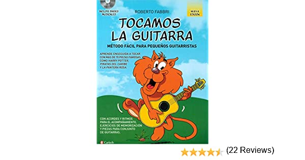 TOCAMOS GUITARRA+CD MET.FACIL PEQ.GUITA. N/ED.: Amazon.es: FABBRI ...