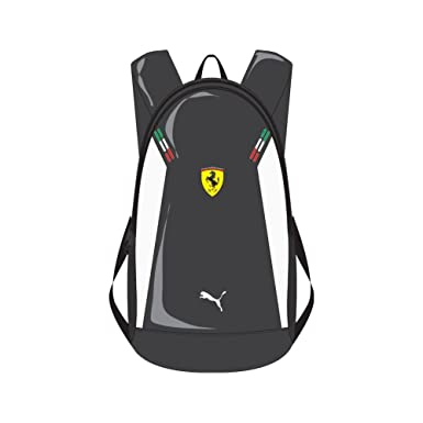 Amazon.com: Puma Mens Ferrari Replica Small Backpack, Black, One ...