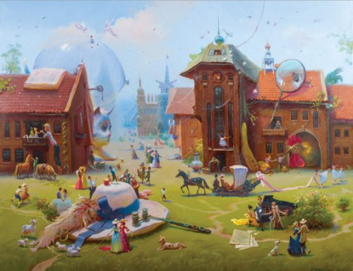 Artifact Puzzles Rekunenko Charming Village product image