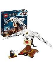 LEGO 75979 Harry Potter Hedwig Byggsats med Uggla Figur, Rörliga Vingar, Leksaksdjur, Samlingsbar