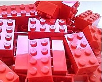 Baukästen & Konstruktion Lego Steine Bausteine 2x4 rot 9 Stück