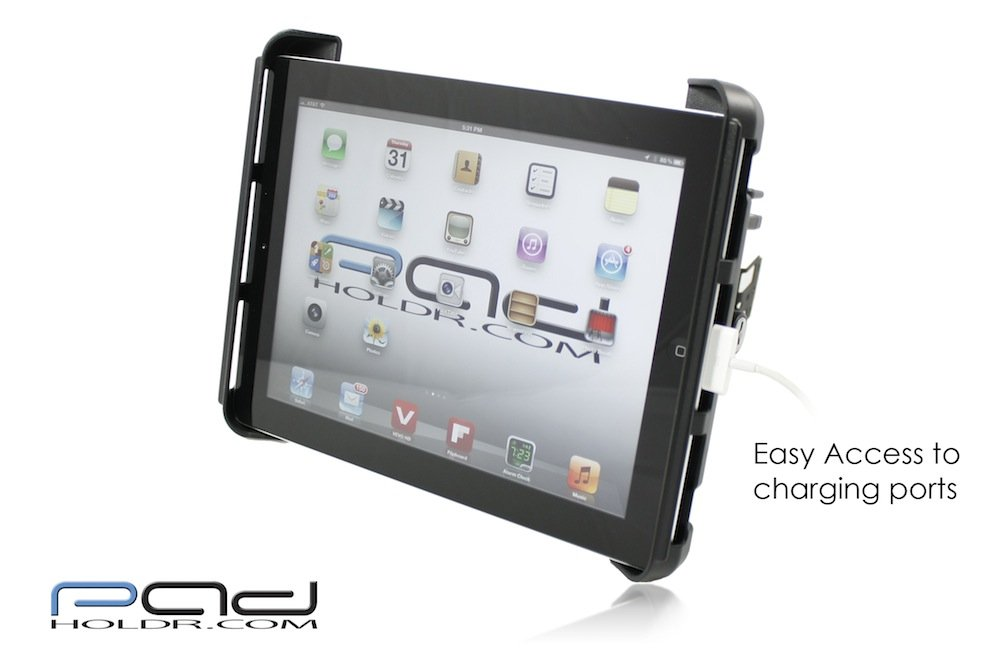 Padholdr Ram Lock Series Locking Tablet Dash Kit 1998-2002 Toyota Land Cruiser for iPad and Other Tablets Pad Holdr PHRL32751371299-2