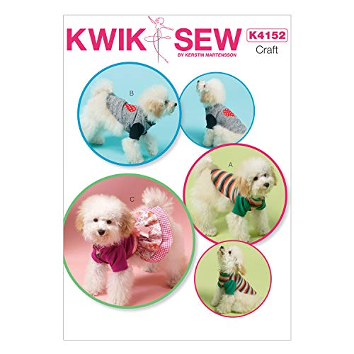 (KWIK-SEW PATTERNS K4152 Dog Clothes)