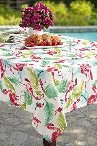 Flamingo Indoor/Outdoor Spillproof Tablecloth … (70