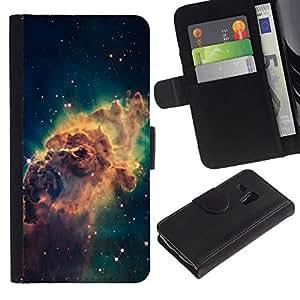 All Phone Most Case / Oferta Especial Cáscara Funda de cuero Monedero Cubierta de proteccion Caso / Wallet Case for Samsung Galaxy S3 MINI 8190 // Beautiful Space Galaxy