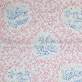 Toile Andy's Gang Pink Blue Bed Throw Runner Scarf