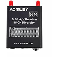 Aomway 5.8G 48 Channel A/V Receiver FPV