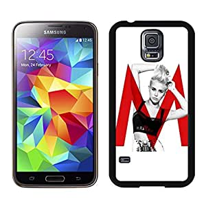 Beautiful Custom Designed Cover Case For Samsung Galaxy S5 I9600 G900a G900v G900p G900t G900w With miley cyrus (3) Samsung Galaxy S5 Black Phone Case 288