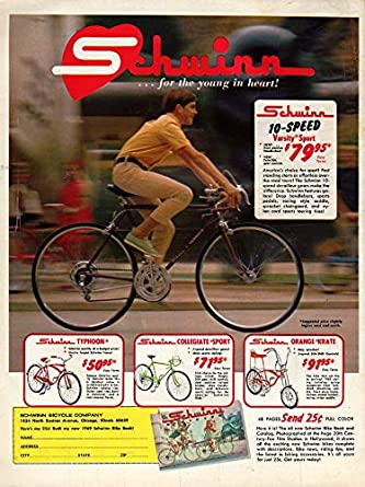 47c8f6ceacb For the young at heart Schwinn Varsity Sport & Orange Krate bicycle ...