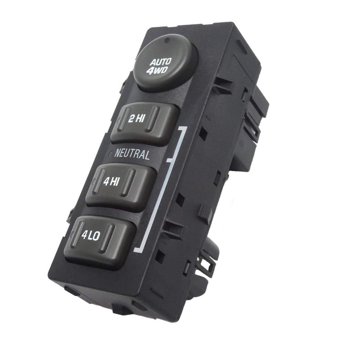 4x4 4wd Switch 901062 for Chevy Silverado GMC Sierra 4 Wheel Drive Switch Transfer Case Switch 15709327 19168767 Issyzone