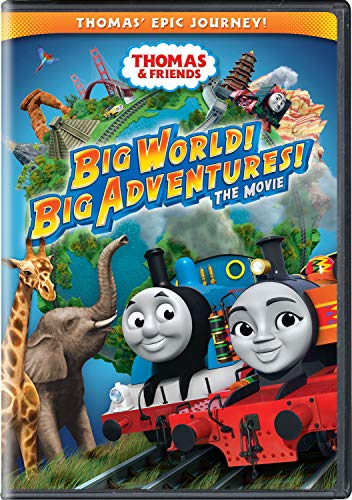 10 best thomas dvd big world big adventure