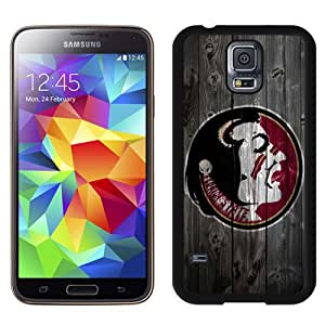 Popular And Durable Designed Case With NCAA Atlantic Coast Conference ACC Footballl Florida State Seminoles 12 Protective Cell Phone Hardshell Cover Case For Samsung Galaxy S5 I9600 G900a G900v G900p G900t G900w Phone Case Black