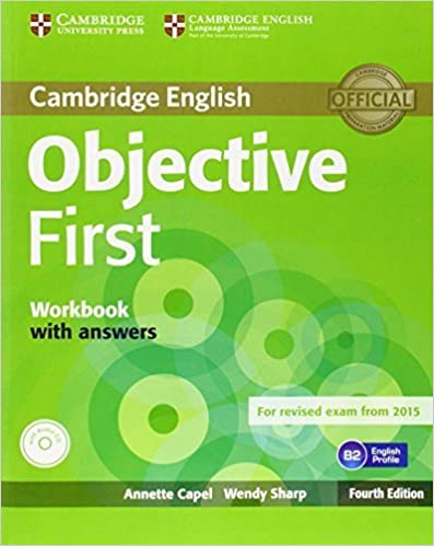 Book Objective First Workbook with Answers with Audio CD 4th edition by Capel, Annette, Sharp, Wendy (2014)