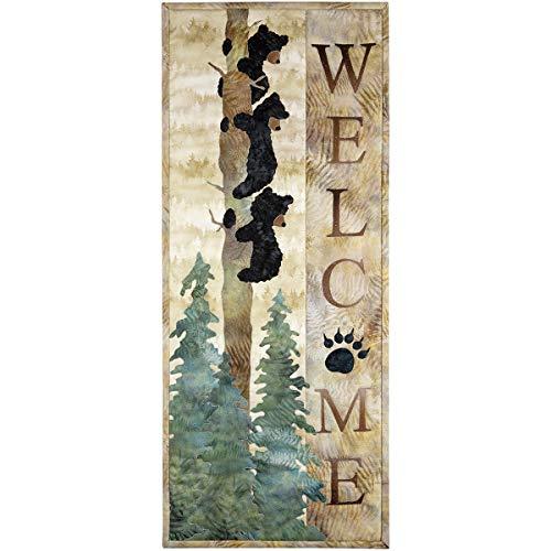 (Welcome Bear Inn Pattern by McKenna Ryan of Pine Needles)