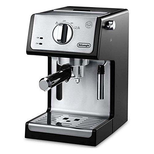 De'Longhi ECP3420 Bar Pump Espresso and Cappuccino Machine, 15″, Black (Renewed)