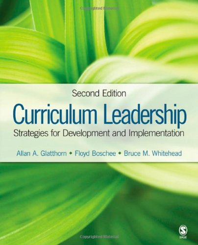 curriculum leadership essay