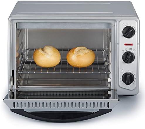 Severin TO 2045 Horno para pizza, 1500 W, 20 litros, Metal, Gris: Amazon.es: Grandes electrodomésticos