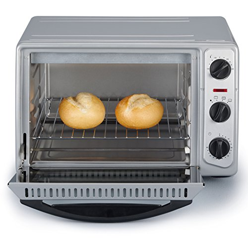 Severin TO 2045 Horno para Pizza, 1500 W, 20 litros, Metal, Gris: Amazon.es
