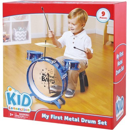 Kid Connection My First Metal Drum Set