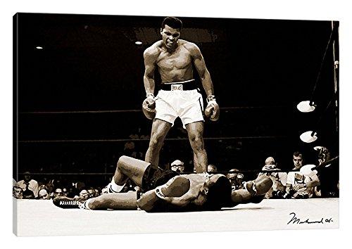 (iCanvasART Muhammad Ali Vs. Sonny Liston, 1965 Canvas Print, 26