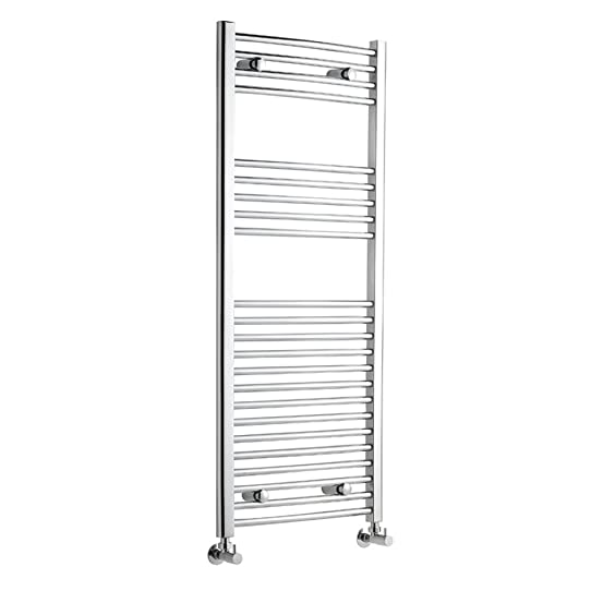 hudson reed radiateur sche serviettes incurv acier inoxydable chrom 120 x 50cm - Radiateur Salle De Bain Chauffage Central