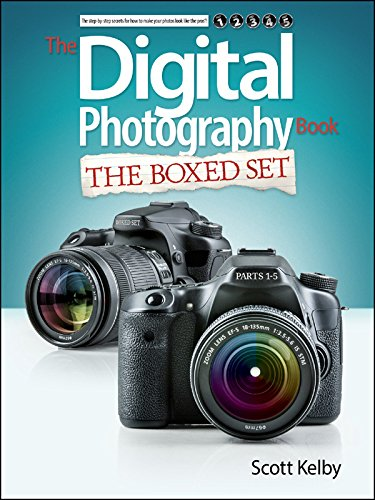 Scott Kelby's Digital Photography Boxed Set; Parts 1; 2; 3; 4; and 5