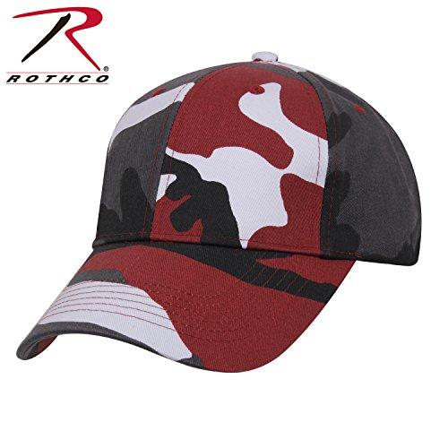 Rothco Supreme Low Profile Cap, Red Camo (Profile Camouflage Cap)