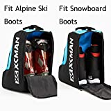 XCMAN Ski Boots and Snowboard Boots Bag, Excellent
