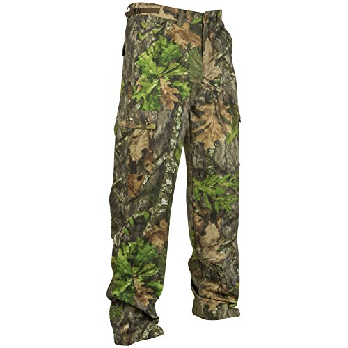 Mossy Oak Hunting Clothes - Mossy Oak Camouflage Cotton Mill Hunting Pants, Obsession, Large