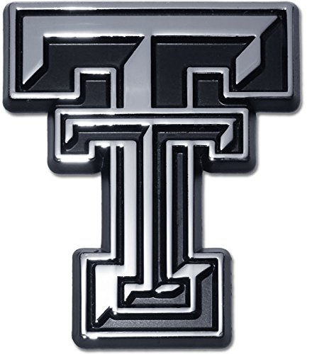 - Texas Tech University Red Raiders METAL Auto Emblem - Many Different Colors Available! (Chrome)