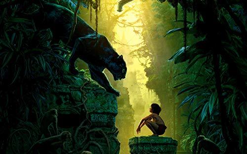 Panther Jungle Book - Innerwallz Big cats Panthers The Jungle Book 2016 Boys Wall Art, Pop Art, Poster, Art Prints | Rare Posters