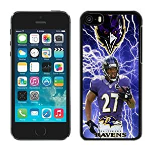 NFL&Baltimore Ravens Ray Rice iphone 5C phone cases&Gift Holiday&Christmas Gifts PHNK625212