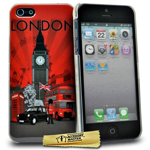 Accessory Master London Ansehen Schutzhülle für Apple iPhone 5C rot