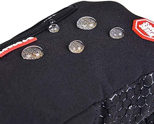 サイクリングランニンググローブ、3本指タッチスクリーンをサポート、スキータッチスクリーン雪風防ウィンターグローブ(S/M/L/XL)3色に使用可能