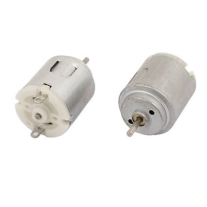 2Pcs DC3-4.5V 3500RPM Large Torque Micro Vibration DC Motor for Electric Massage