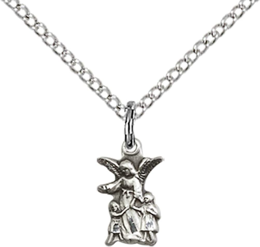 Made In USA Sterling Silver Littlest Angel Pendant Jewels Obsession Littlest Angel Pendant 18 Chain
