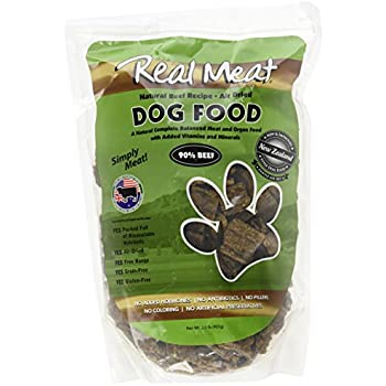 Real Meat Air Dried Beef Pet Treat, 2 lb