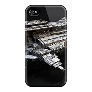Durable Battle Ship Concept Back Cases/covers For Iphone 6
